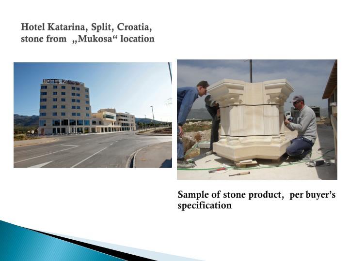 Hotel Katarina, Split, Croatia,