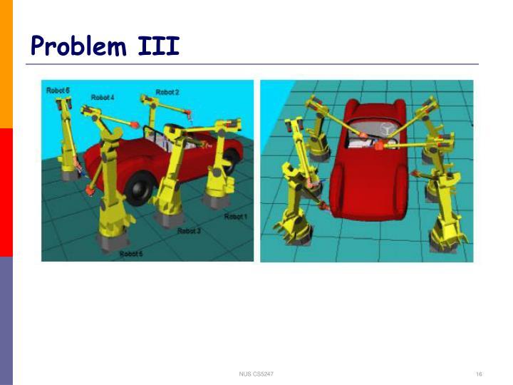 Problem III