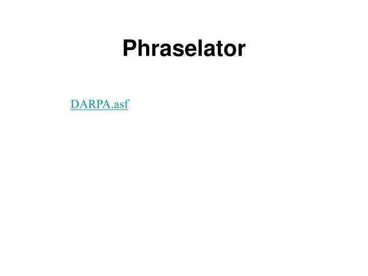 Phraselator