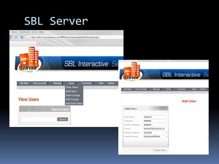 SBL Server