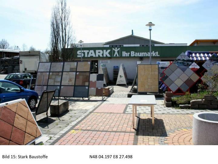 Bild 15: Stark BaustoffeN48 04.197 E8 27.498