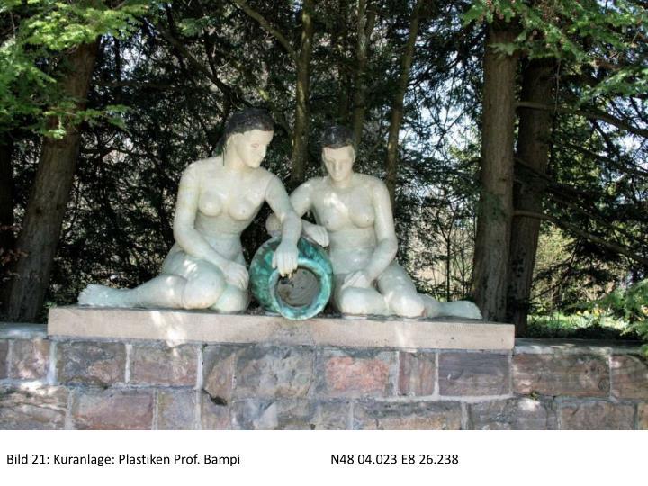 Bild 21: Kuranlage: Plastiken Prof. BampiN48 04.023 E8 26.238