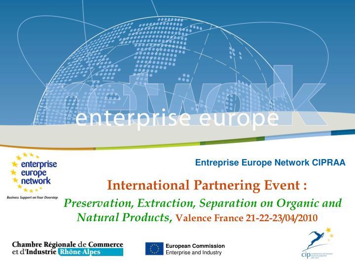 Entreprise Europe Network CIPRAA