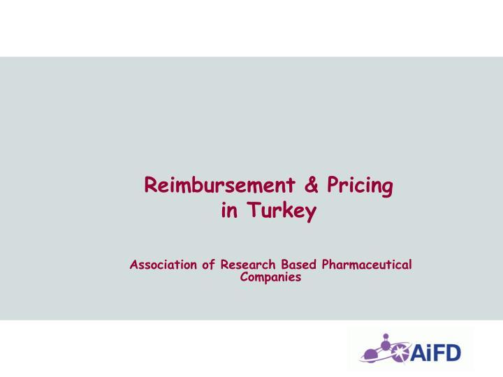 Reimbursement & Pricing