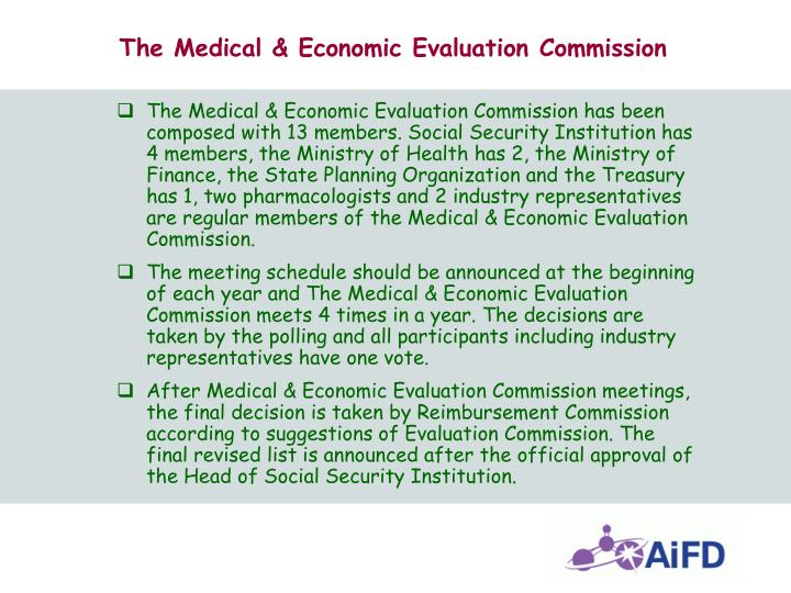 The Medical & Economic Evaluation Commission