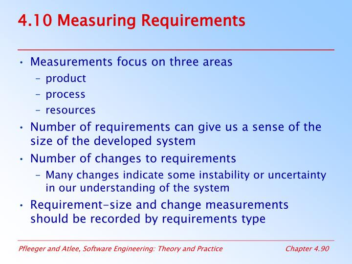 4.10 Measuring Requirements