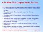 4 14 what this chapter means for you
