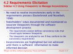 4 2 requirements elicitation sidebar 4 3 using viewpoints to manage inconsistency