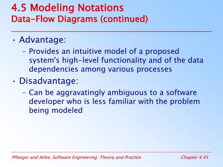 4.5 Modeling Notations