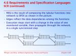 4 6 requirements and specification languages scr continued