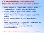 4 8 requirements documentation requirement definition steps documenting process
