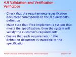 4 9 validation and verification verification