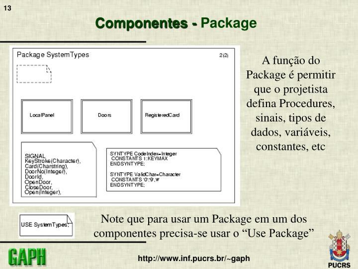 Componentes -