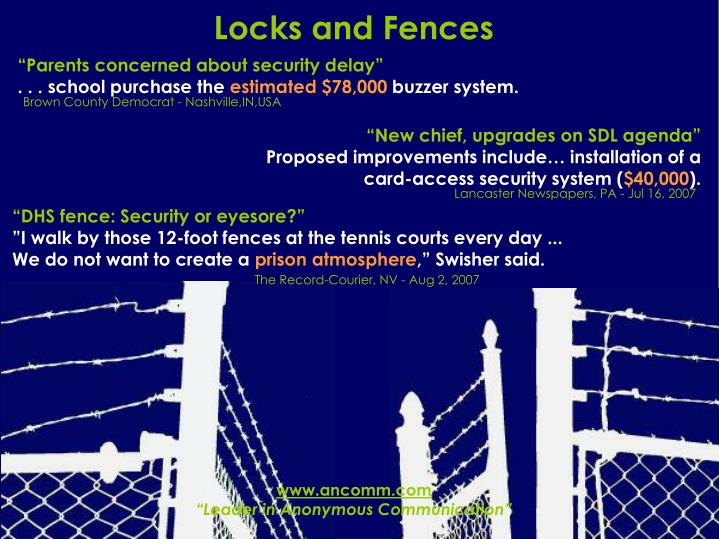 Locks and Fences