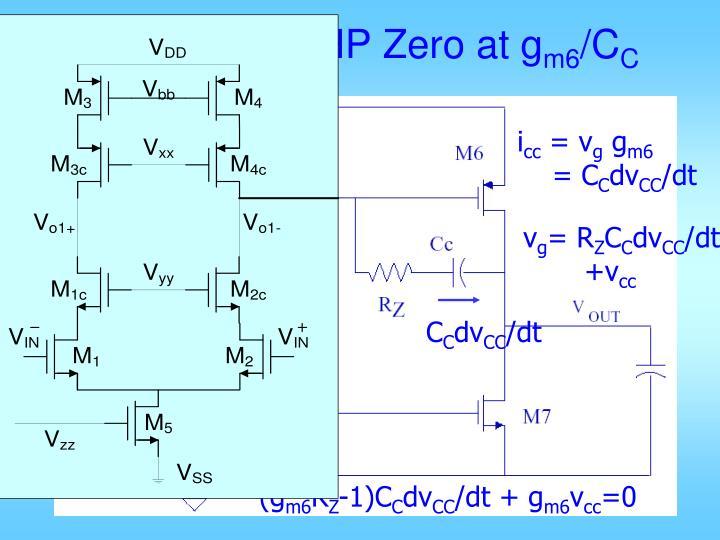 Eliminating RHP Zero at g