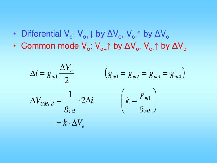 Differential V