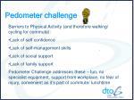 pedometer challenge3