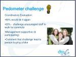 pedometer challenge7