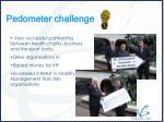 pedometer challenge9