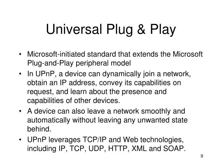 Universal Plug & Play