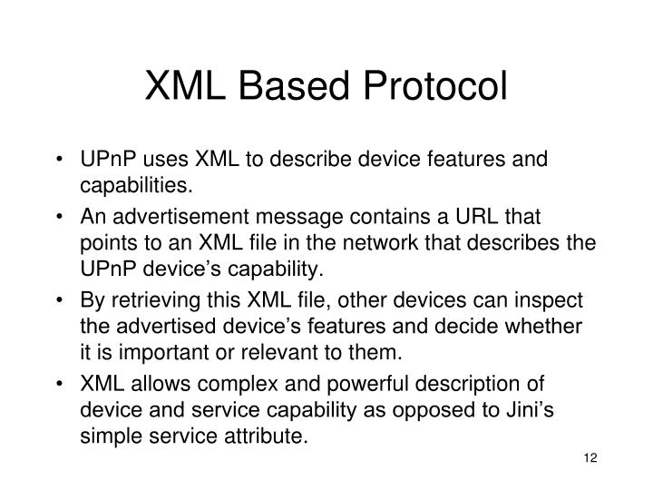 XML Based Protocol