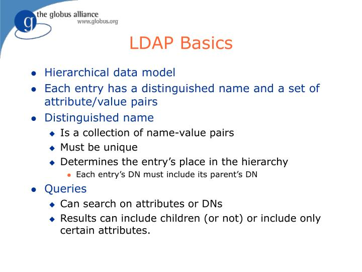 LDAP Basics