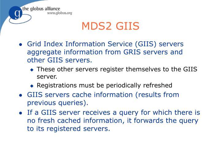 MDS2 GIIS