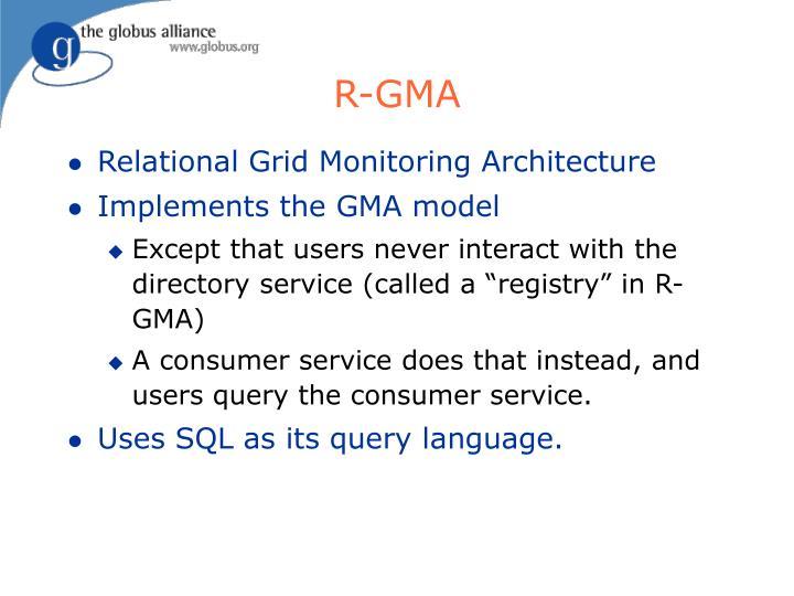 R-GMA
