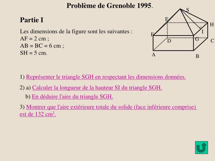 Problème de Grenoble 1995
