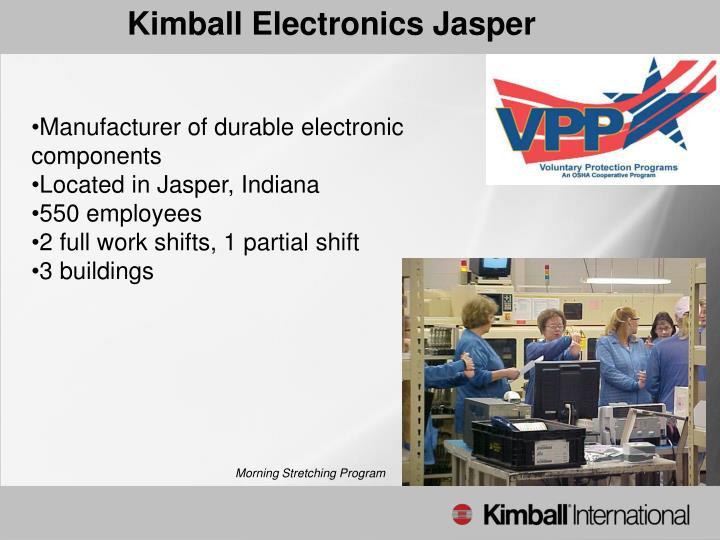 Kimball Electronics Jasper
