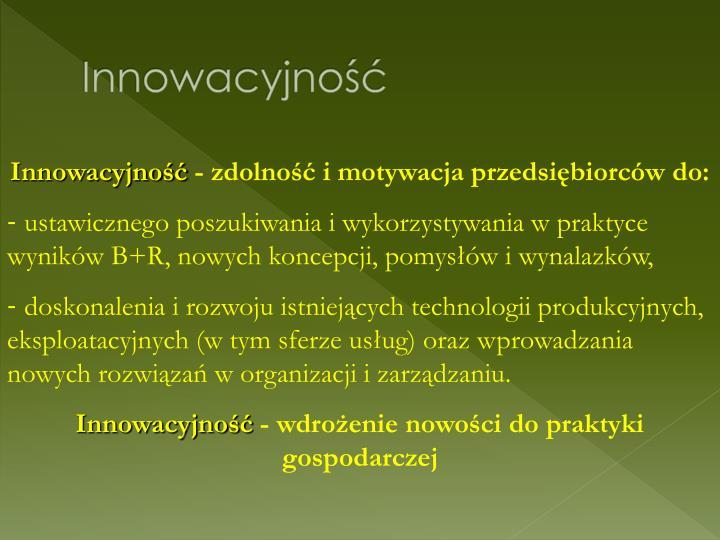 Innowacyjno