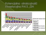 potencjalna atrakcyjno inwestycyjna pai 2 gn