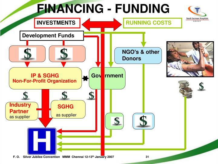 FINANCING - FUNDING