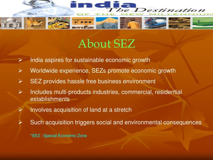 About SEZ