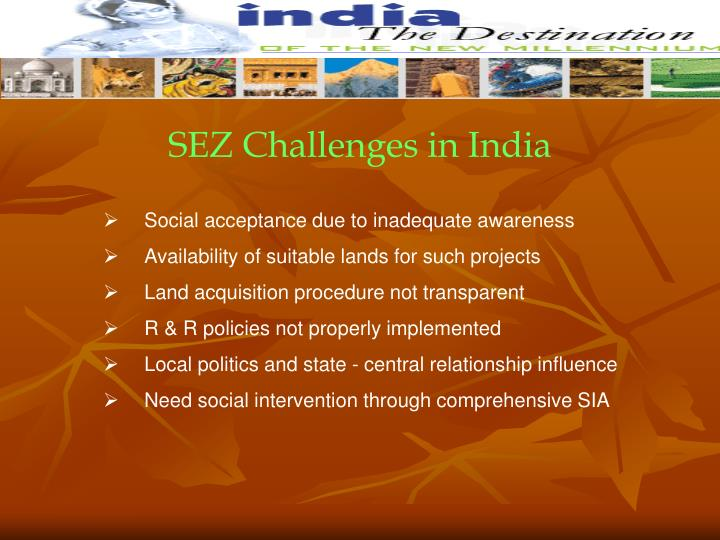 SEZ Challenges in India