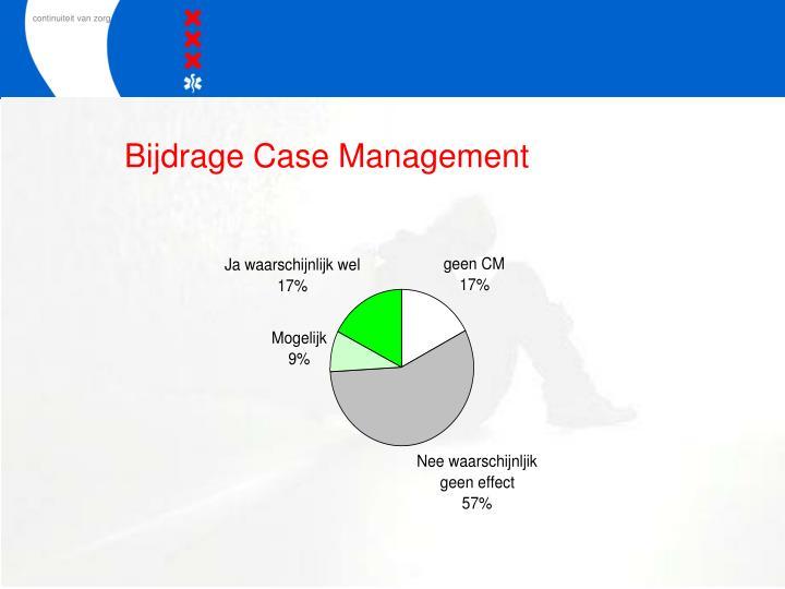 Bijdrage Case Management