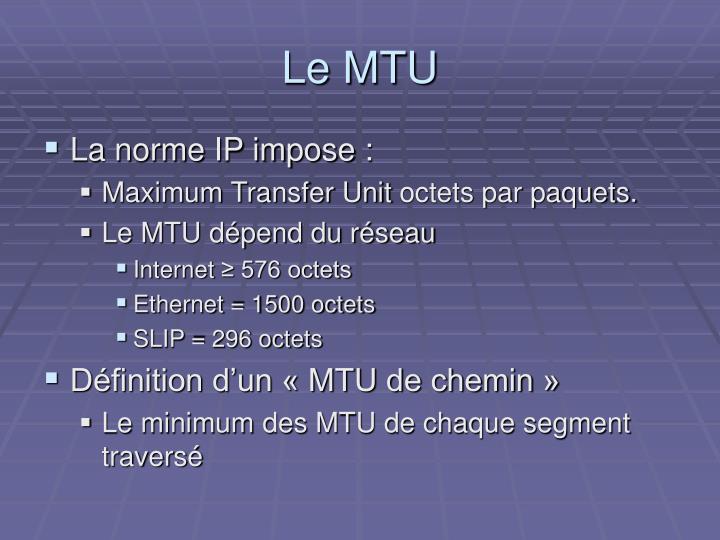 Le MTU