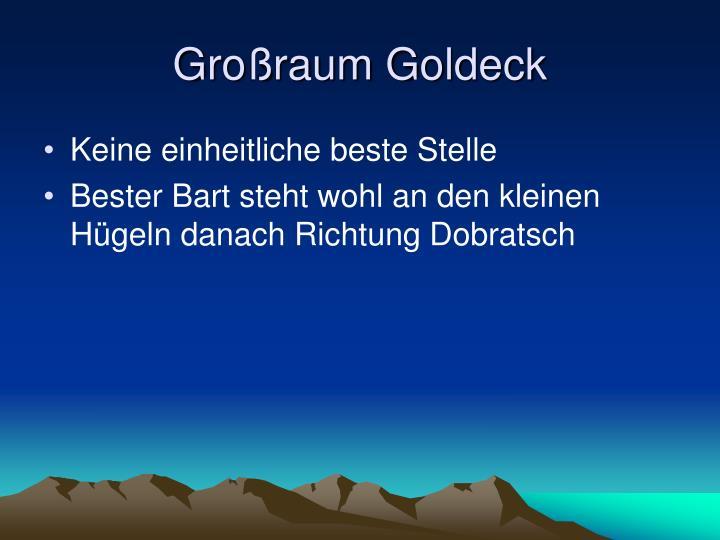 Großraum Goldeck