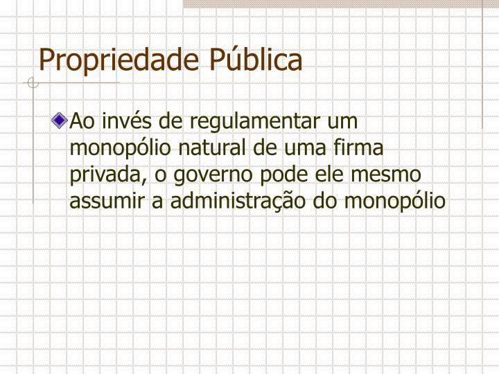 Propriedade Pública