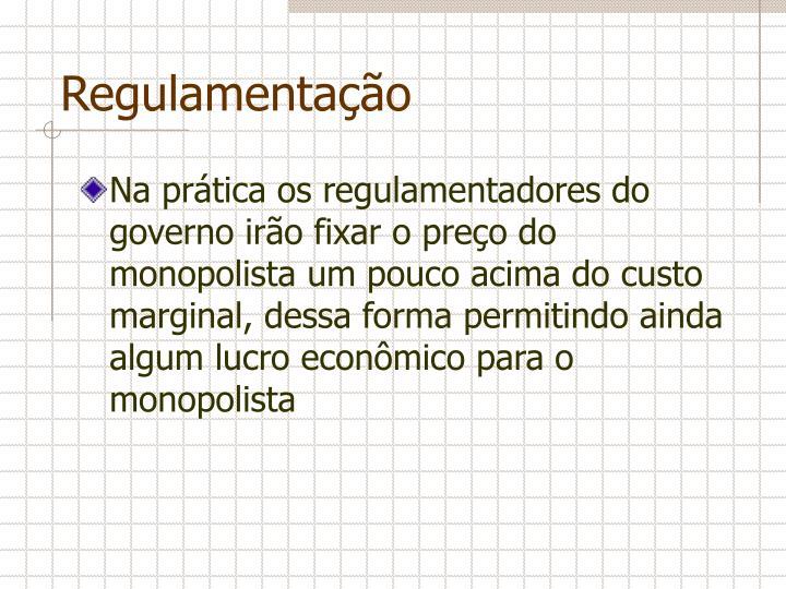 Regulamentação