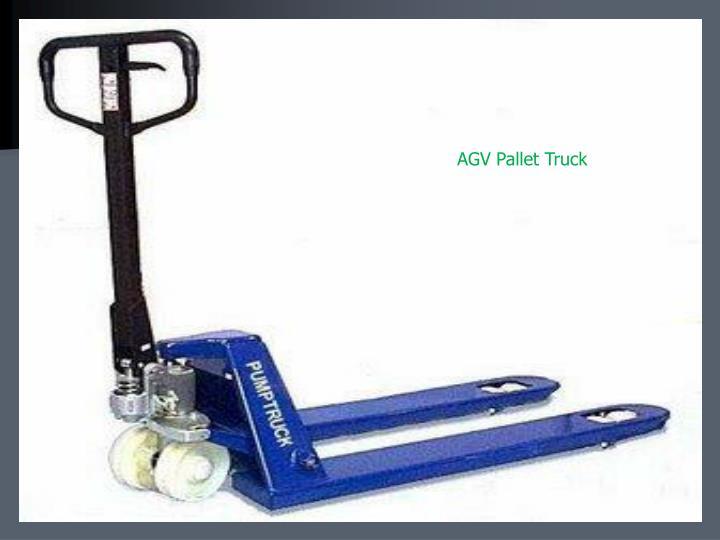 AGV Pallet Truck