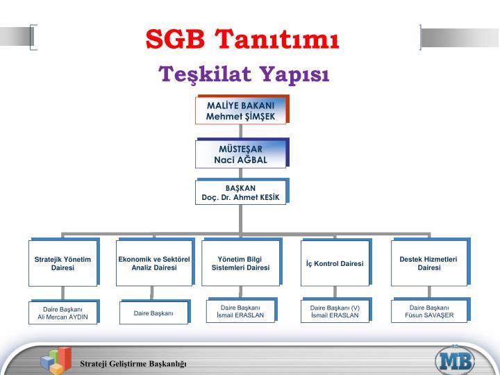 SGB Tanıtımı