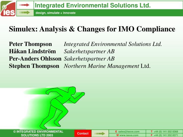 Integrated Environmental Solutions Ltd.