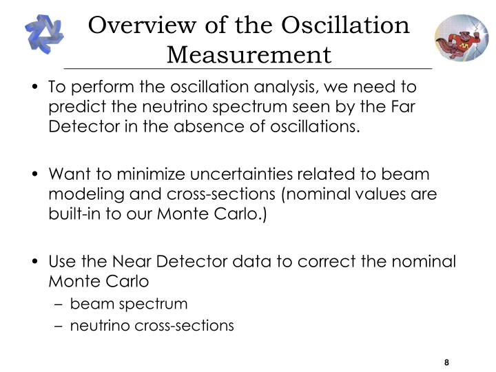 Overview of the Oscillation Measurement