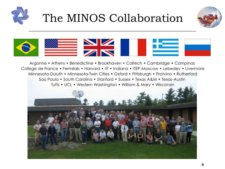 The MINOS Collaboration