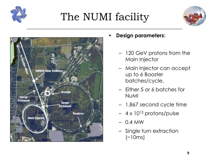 The NUMI facility