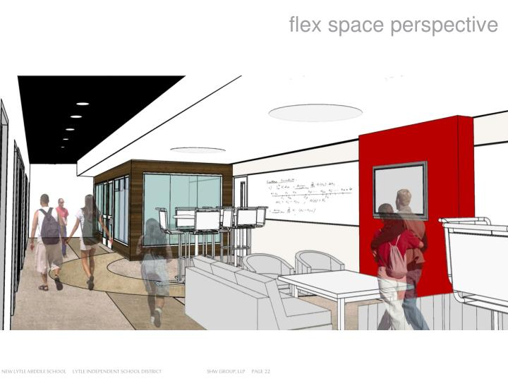 flex space perspective