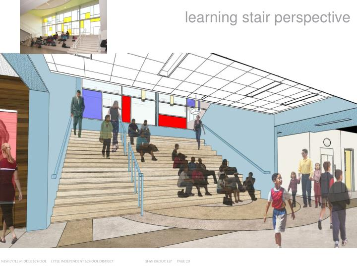 learning stair