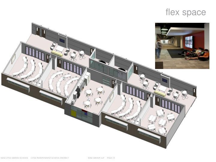 flex space