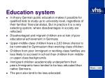 education system